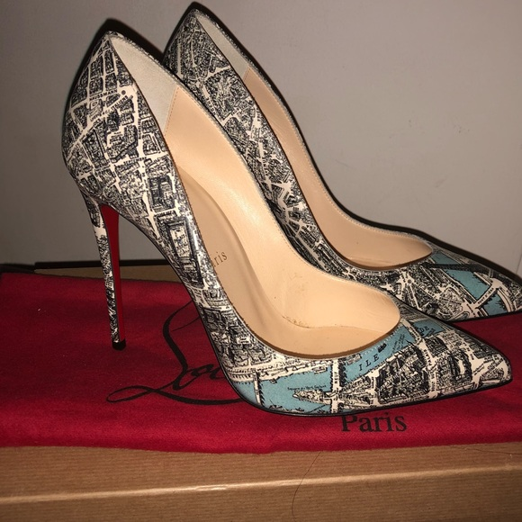 600be8c8563 Christian Louboutin Pigalle follies Boutique